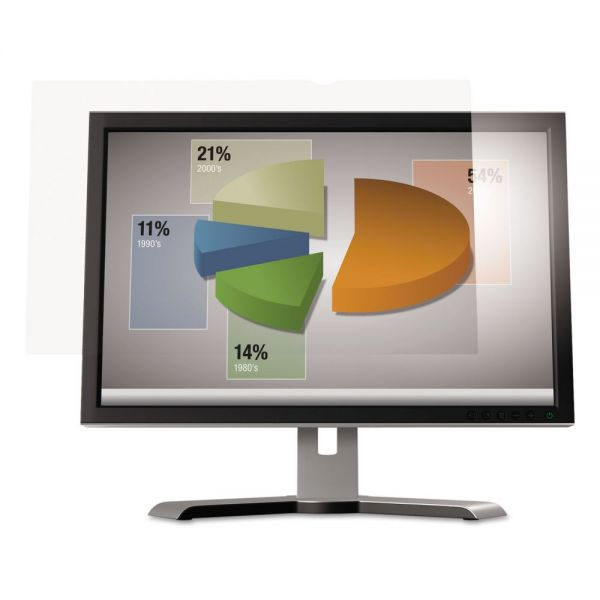 "3M Antiglare Flatscreen Frameless Monitor Filters for 27"" Widescreen LCD, 16:9"