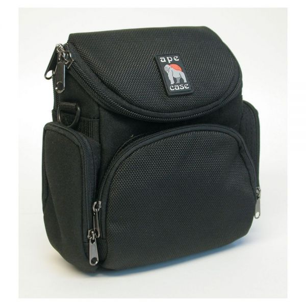 Norazza Ape Case 250 Video/Camera Bag, Nylon, 7-1/8 x 4-3/8 x 7-3/8, Black