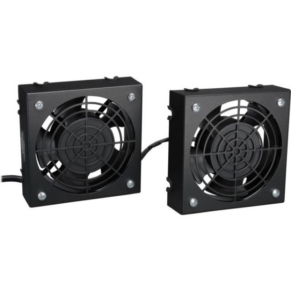Tripp Lite Wallmount Rack Enclosure Cooling Roof Fan Kit 120V 5-15P