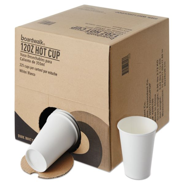 Boardwalk Convenience Pack 12 oz Paper Coffee Cups