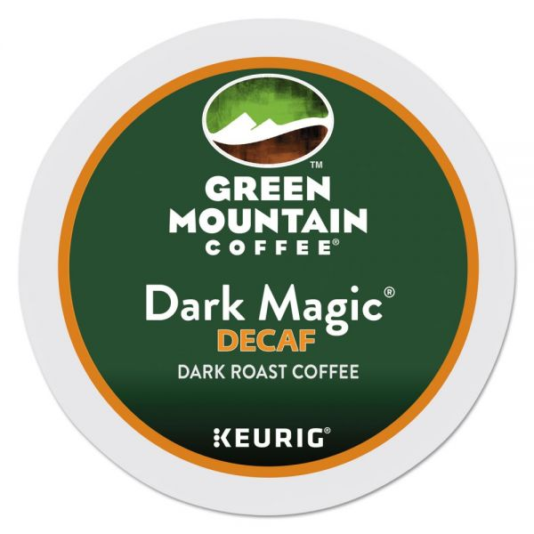 Green Mountain Coffee Dark Magic Decaf Extra Bold Coffee K-Cups