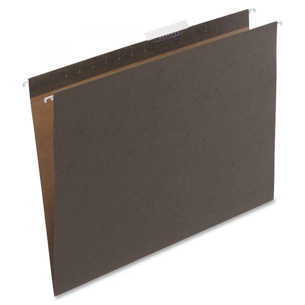 Safco Hanging File Folders Compressed Paper Fiber 18 X 14 Green 25 Box