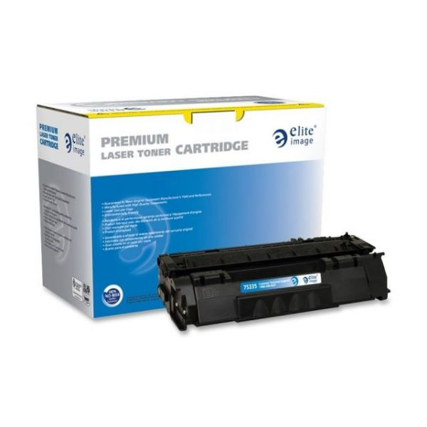 Elite Image Remanufactured HP Q7553A Toner Cartridge