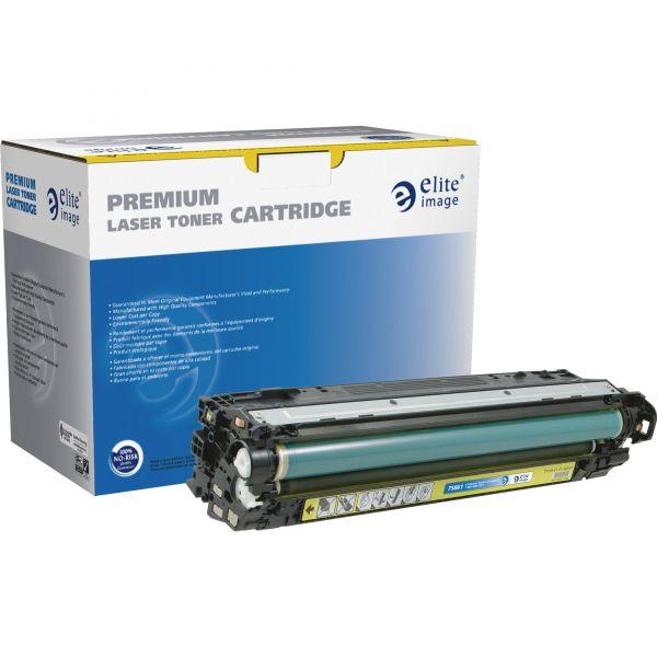 Elite Image Remanufactured HP 307A Yellow Toner Cartridge