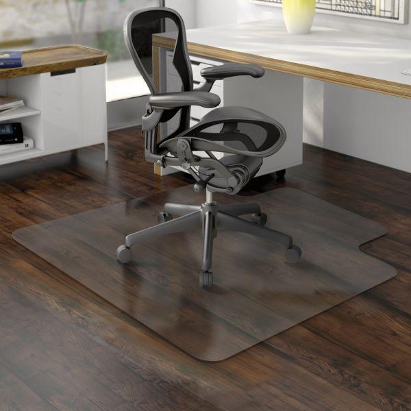 Deflect-o Nonstudded EconoMat Hard Floor Chair Mat