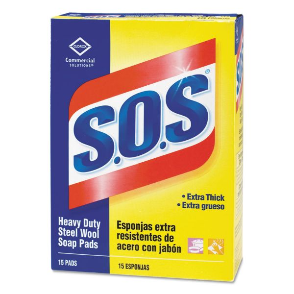 Clorox S.O.S Steel Wool Soap Pads