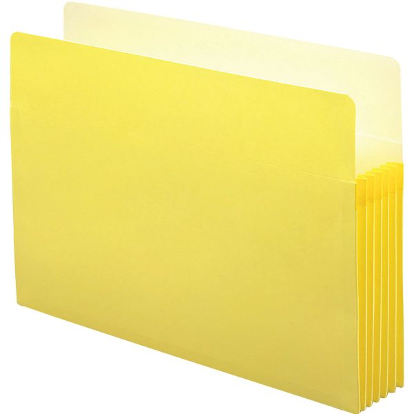 Smead 74243 Yellow Colored File Pockets