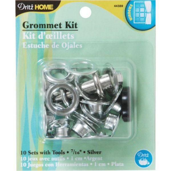 """Grommet Kit 7/16"""" W/Stud Setter 10/Pkg"""