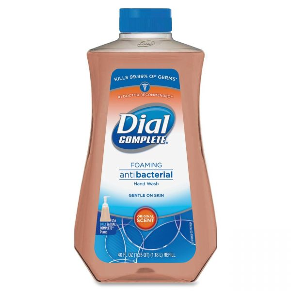 Dial Complete Antimicrobial Foaming Hand Soap
