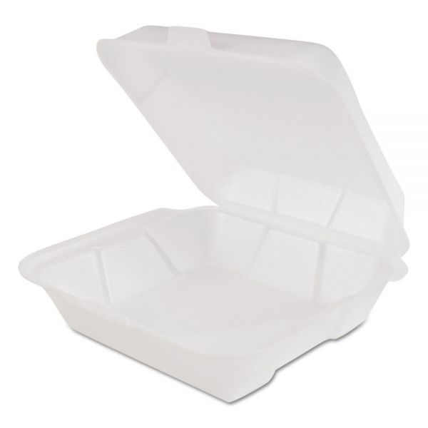 Genpak Snap-It Foam Clamshell Carryout Containers