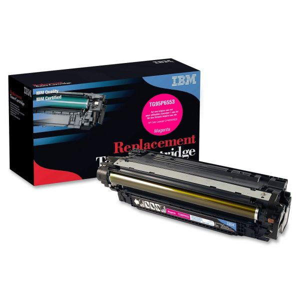 IBM Remanufactured HP CE263A Magenta Toner Cartridge