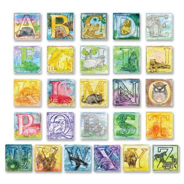 ChenilleKraft Alphabet Embossed Paper Set
