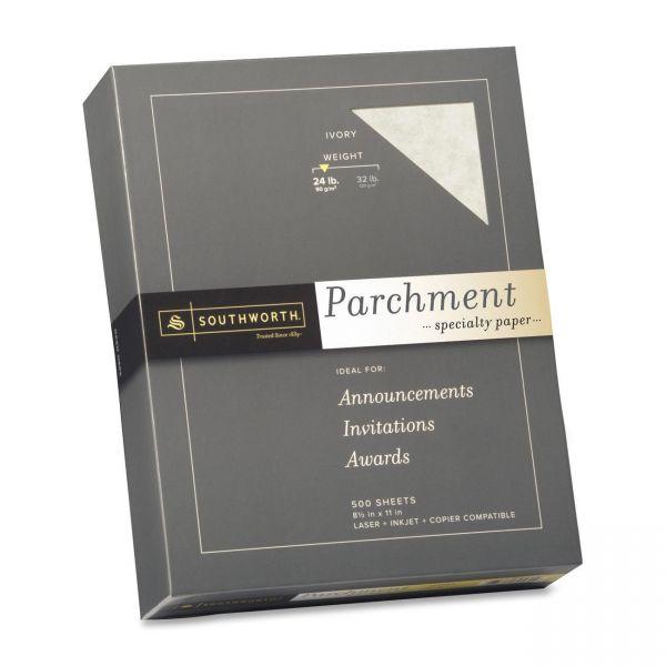 Southworth Fine Ivory Parchment Paper