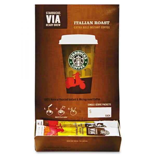 Starbucks VIA Ready Brew Instant Coffee Packets