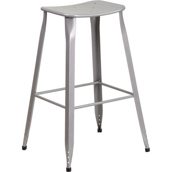 Flash Furniture 30'' High Big & Tall Indoor-Outdoor Barstool