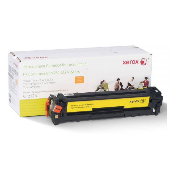 Xerox 006R03184 Remanufactured CF212A (131A) Toner, 1800 Page-Yield, Yellow