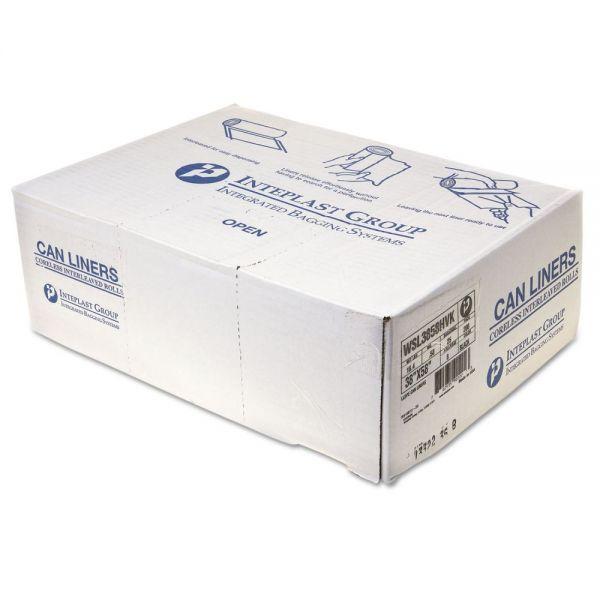 Inteplast Group Coreless 60 Gallon Trash Bags
