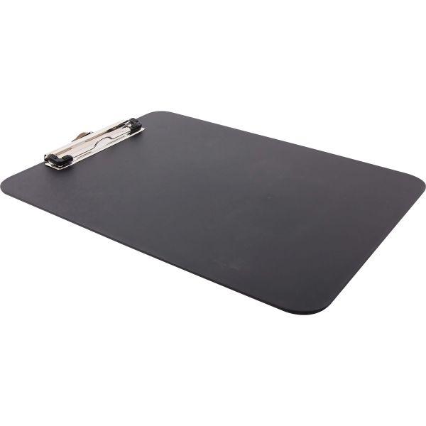 Baumgartens Unbreakable Heavy Duty Recycled Black Plastic Clipboard