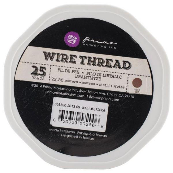 Prima Marketing Wire Thread 25yds