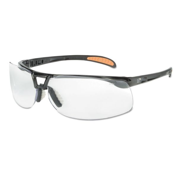 Uvex by Honeywell Protege Safety Glasses, UV Extra AF Coated Clear Lens