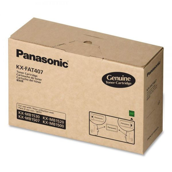 Panasonic KXFAT407 Black Toner Cartridge