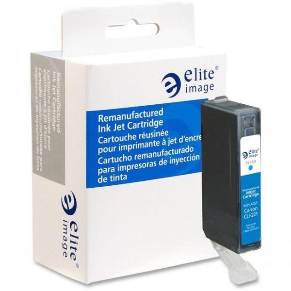 Elite Image Remanufactured Canon CLI-221C Ink Cartridge