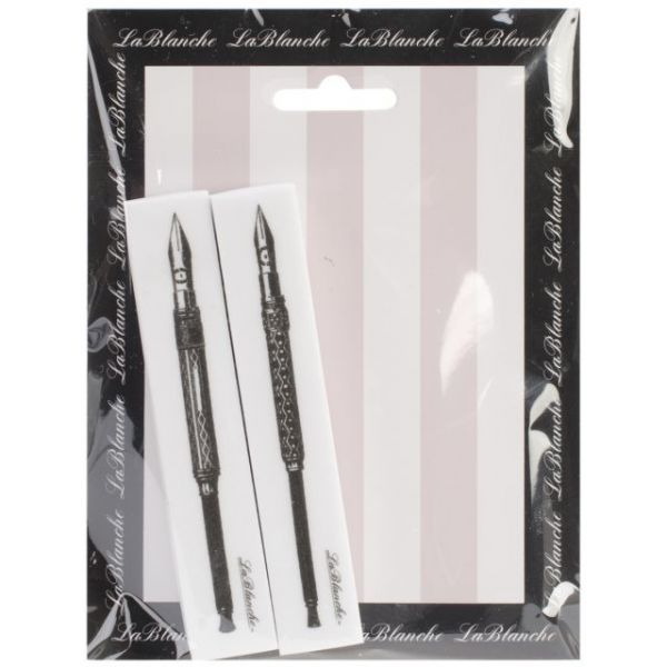 """LaBlanche Silicone Stamps 2.5""""X3"""""""