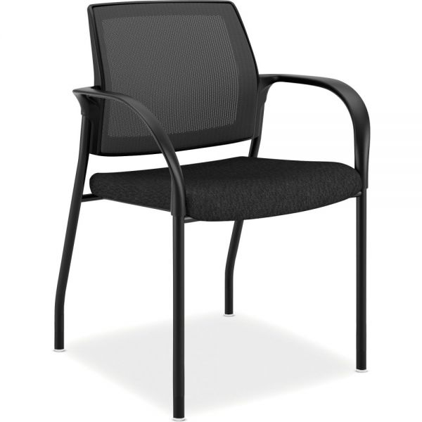 HON Ignition Series Mesh Back Multi-Purpose Stacking Chair with Casters