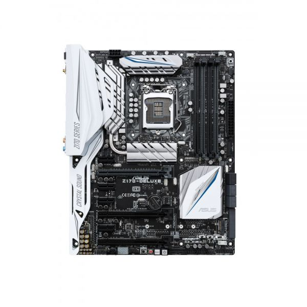 Asus Z170-DELUXE Desktop Motherboard - Intel Chipset - Socket H4 LGA-1151