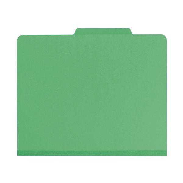 Smead Green Classification File Folders