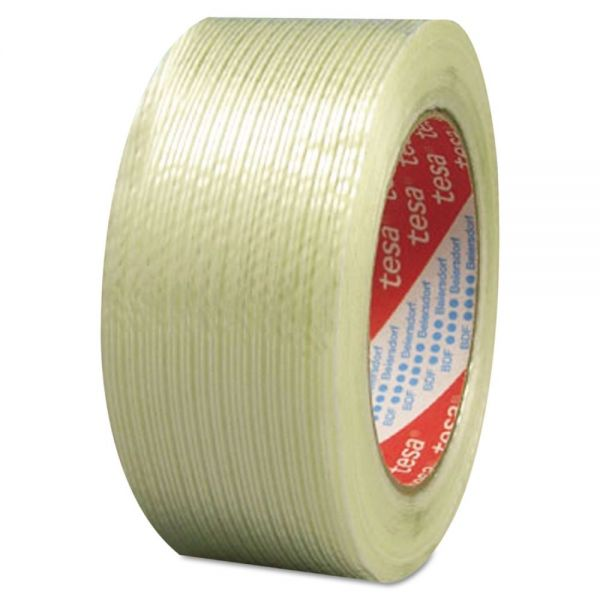 "tesa 319 Performance Grade Filament Strapping Tape, 1"" x 60yd, Fiberglass"