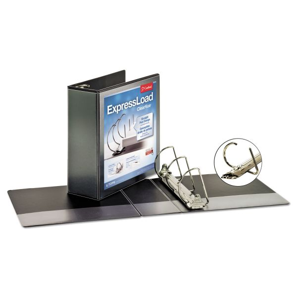 "Cardinal ExpressLoad 4"" 3-Ring View Binder"