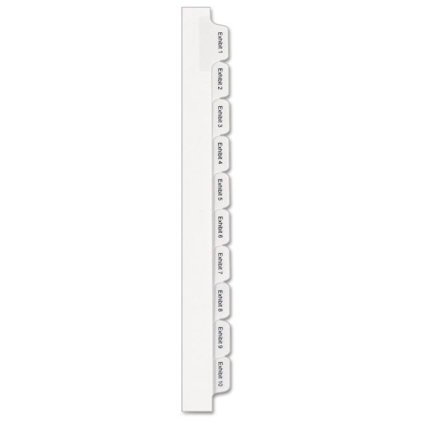 Avery Collated Legal Exhibit Dividers - Allstate Style