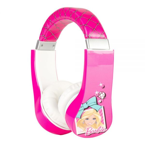 Sakar Kids Barbie Kids Safe Friendly Headphones