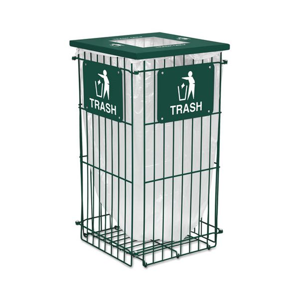 Ex-Cell Clean Grid Fully Collapsible 45 Gallon Trash Can