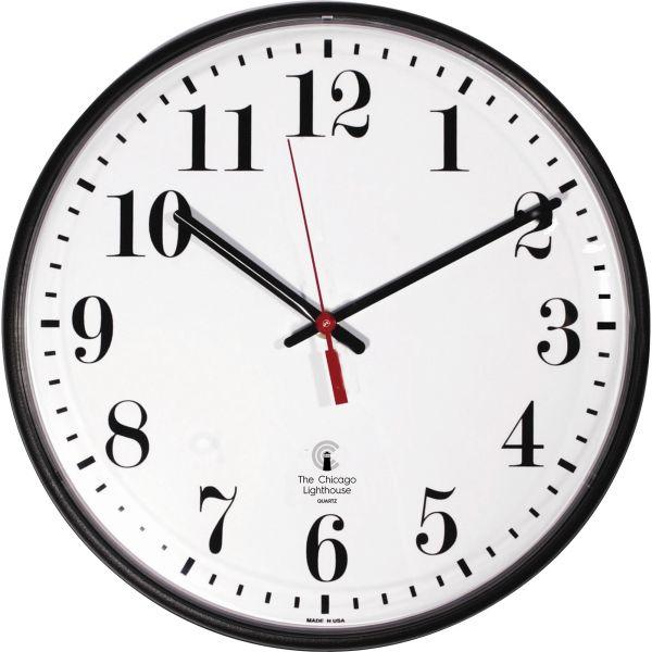 "Chicago Lighthouse 12-3/4"" Radio Control Clock"