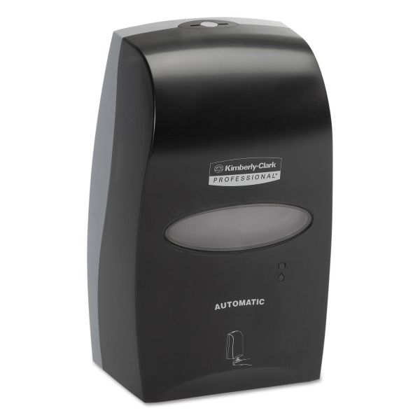 Kimberly-Clark Professional* Electronic Cassette Skin Care Dispenser, 1200mL, 7.25 x 11.48 x 4, Black