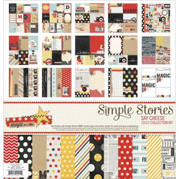 Simple Stories Collection Scrapbook Kit