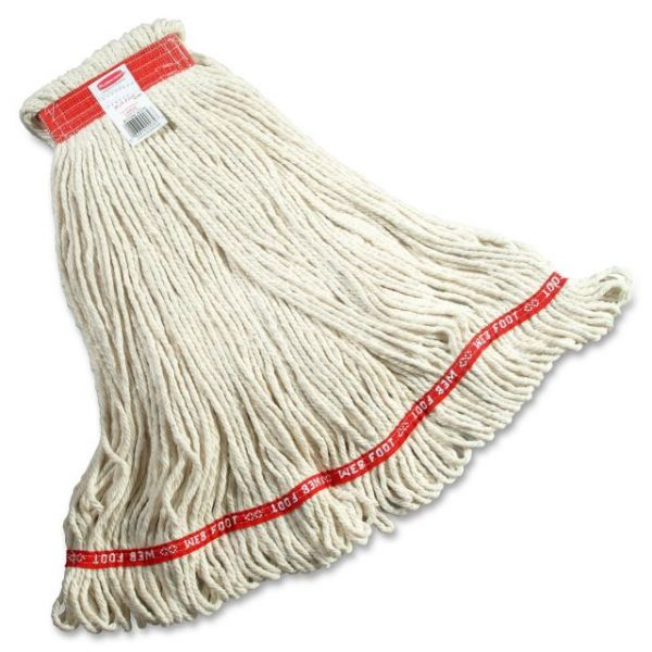 Rubbermaid Commercial Web Foot Wet Mop Head