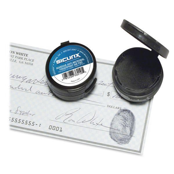 SICURIX Adhesive Fingerprint Ink Pad