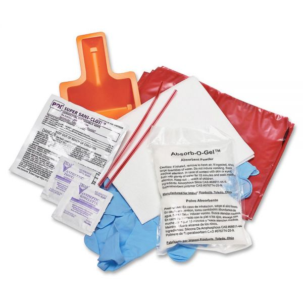 Impact Products Bloodborne Pathogen Cleanup Kit