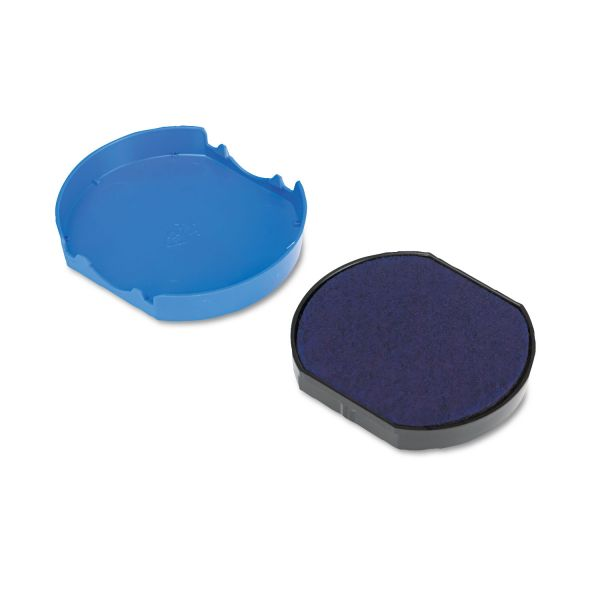 Identity Group Trodat T46140 Dater Replacement Pad, 1 5/8, Blue