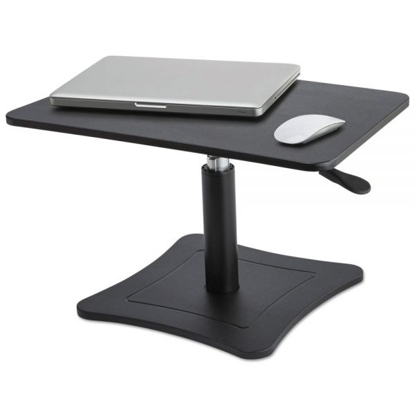 Victor High Rise Adjustable Laptop Stand, 21 x 13 x 12 to 15 3/4, Black