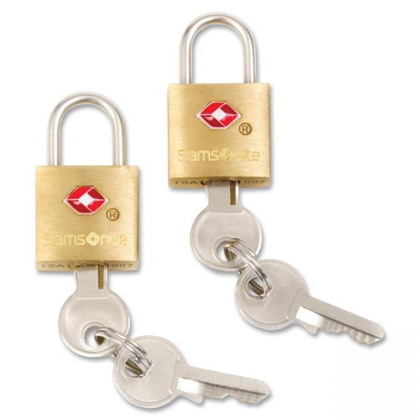 Samsonite Brass Key Locks