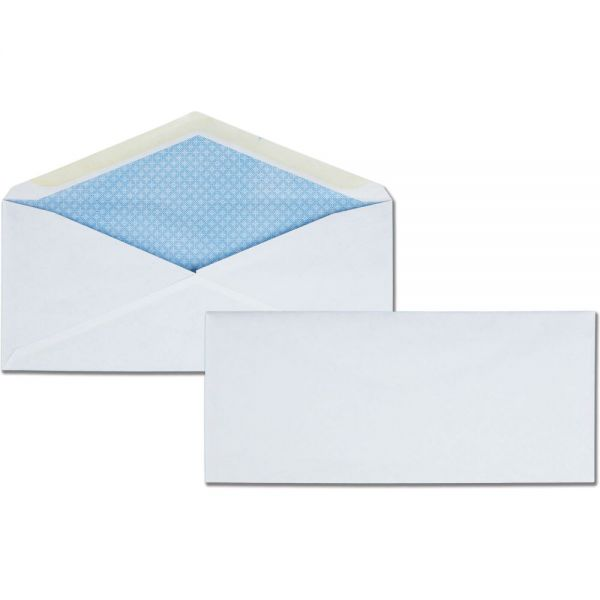 Quality Park White Wove Security Business Envelopes