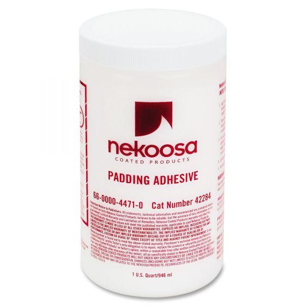 Nekoosa Coated Products Fan-Out Padding Adhesive