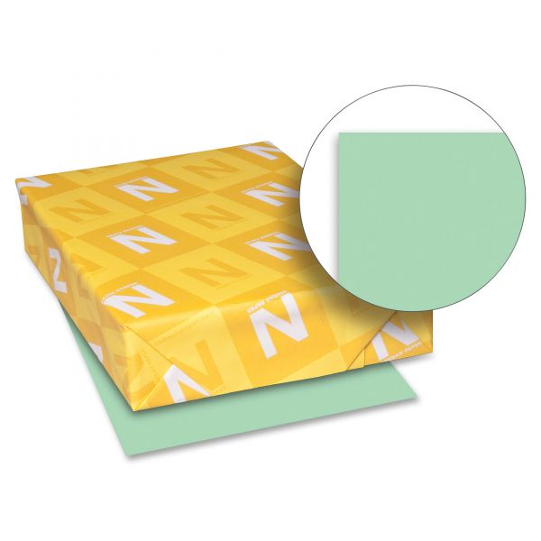 Neenah Paper Exact Index 110 lb Green Colored Card Stock
