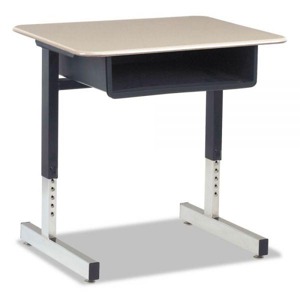Cantilever-Legged Student Desk