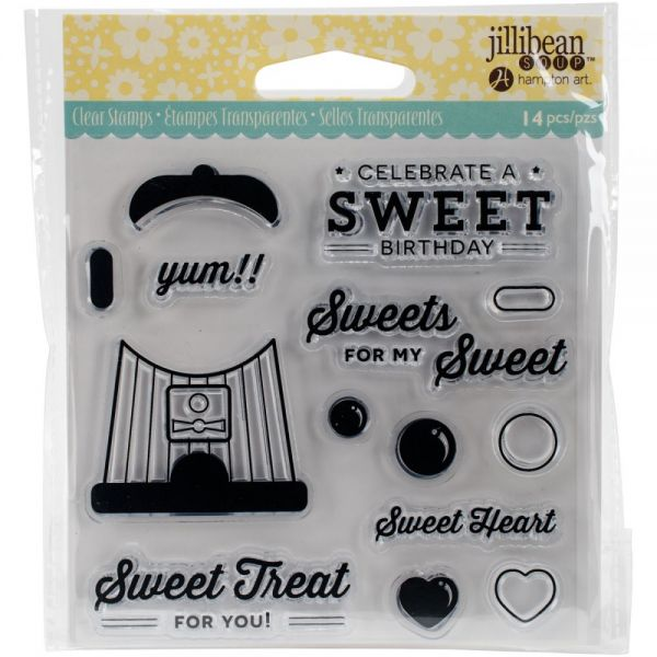 "Jillibean Soup Clear Stamps 4""X4"""