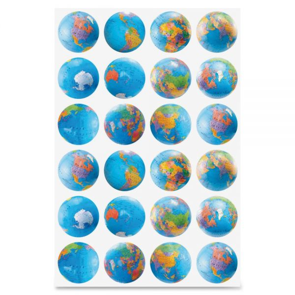 Hygloss Globes Stickers